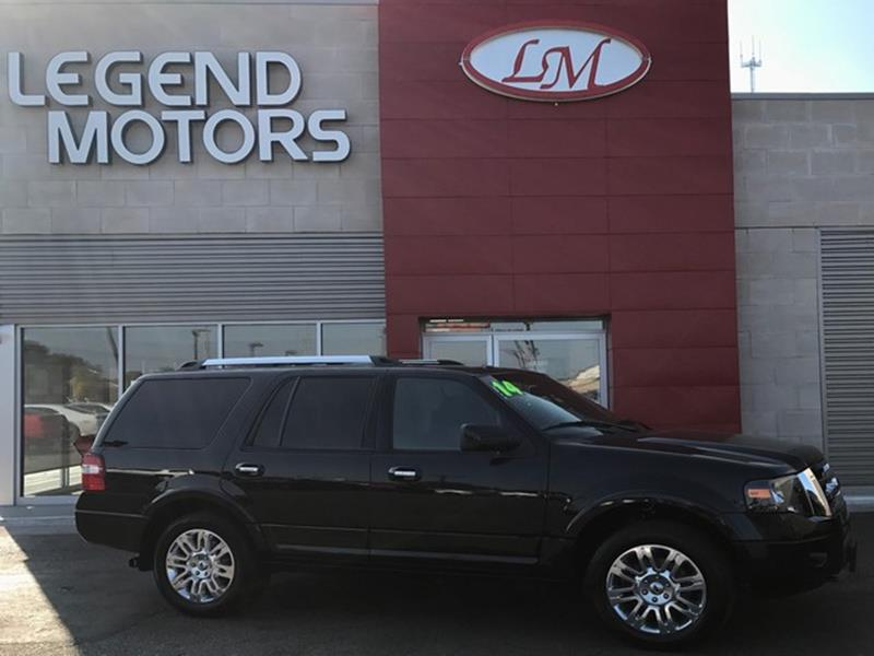 2014 Ford Expedition  Miles 84672Color BLACK Stock 7807C VIN 1FMJU2A53EEF50443