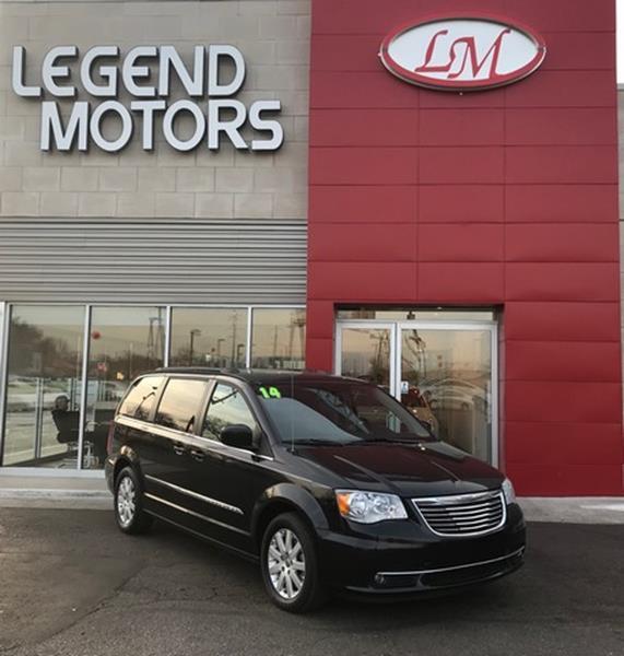 2014 Chrysler Town  Country  Miles 63220Color BLACK Stock 7809C VIN 2C4RC1BG8ER111021