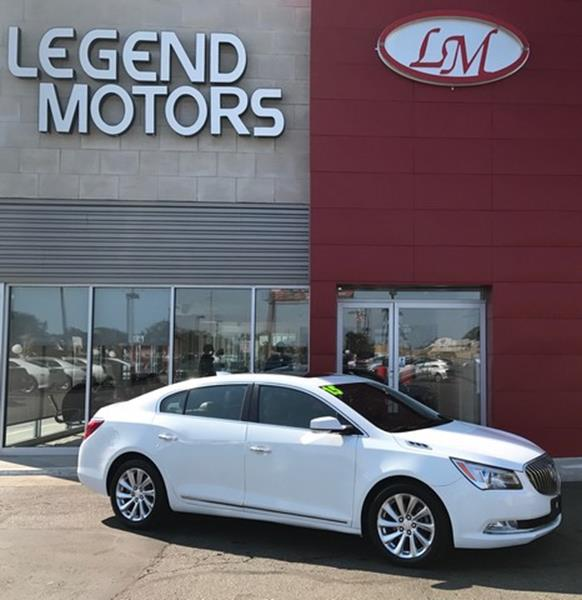 2015 Buick Lacrosse  Miles 53419Color WHITE Stock 7825C VIN 1G4GB5G35FF133053
