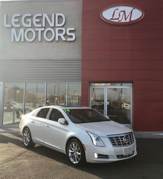 2014 Cadillac Xts  Miles 59838Color PEARL WHITE Stock 7848C VIN 2G61N5S3