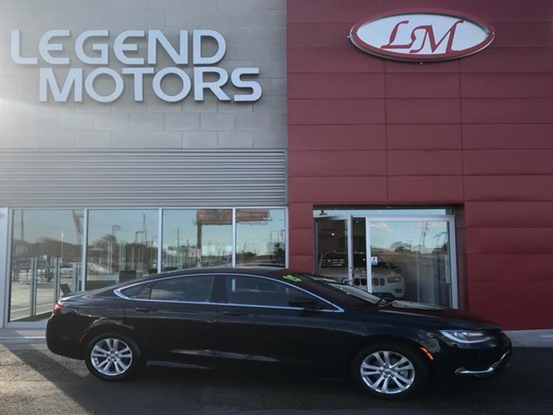 2015 Chrysler 200  Miles 55159Color BLACK Stock 7851C VIN 1C3CCCAB2FN720387