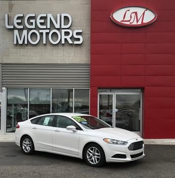 2014 Ford Fusion for sale in Ferndale, MI