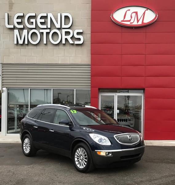 2012 Buick Enclave  Miles 97800Color BLUE Stock 7864C VIN 5GAKVCED7CJ347039