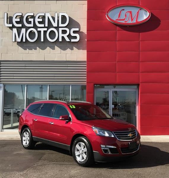2013 Chevrolet Traverse  Miles 72758Color MAROON Stock 7885C VIN 1GNKVJKD0DJ164548