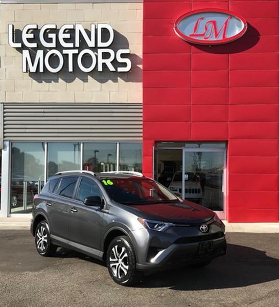 2016 Toyota Rav4  Miles 40072Color GRAY Stock 7884C VIN 2T3BFREV6GW45396