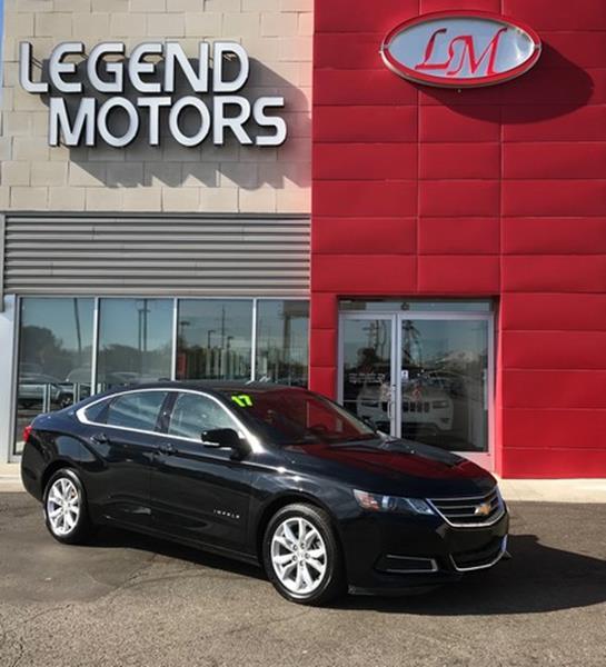 2017 Chevrolet Impala  Miles 37899Color BLACK Stock 7886C VIN 1G1105S36HU160616