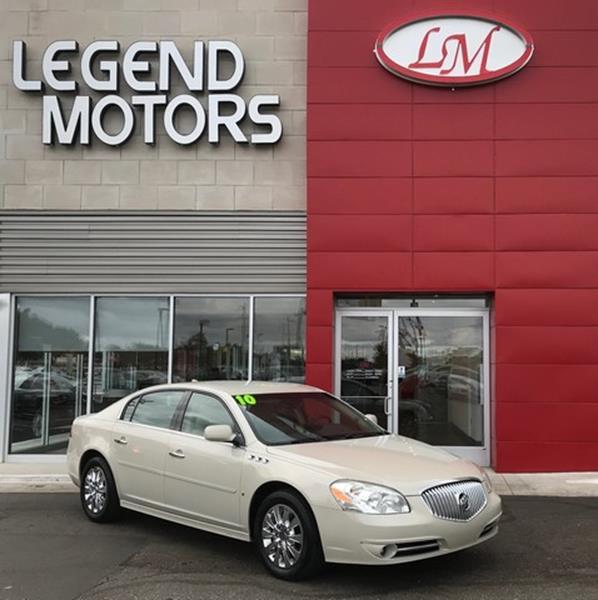 2010 Buick Lucerne  Miles 94327Color GRAY Stock 7900C VIN 1G4HC5E16AU106354