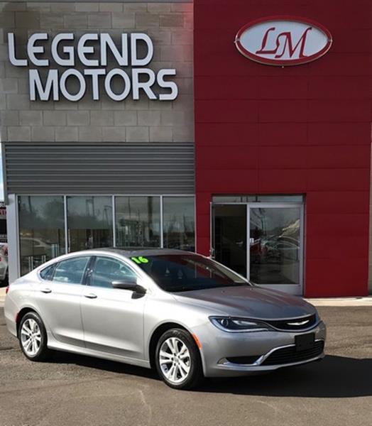 2016 Chrysler 200  Miles 17955Color SILVER Stock 7909C VIN 1C3CCCAB1GN121451