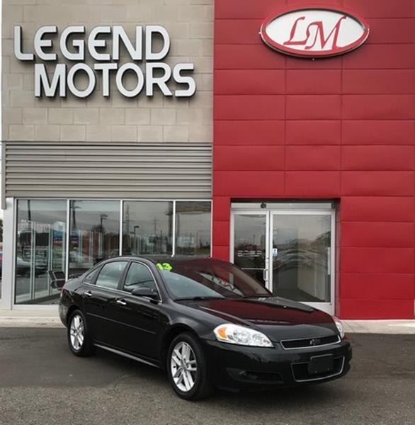 2013 Chevrolet Impala  Miles 76684Color BLACK Stock 7893C VIN 2G1WC5E31D1160862