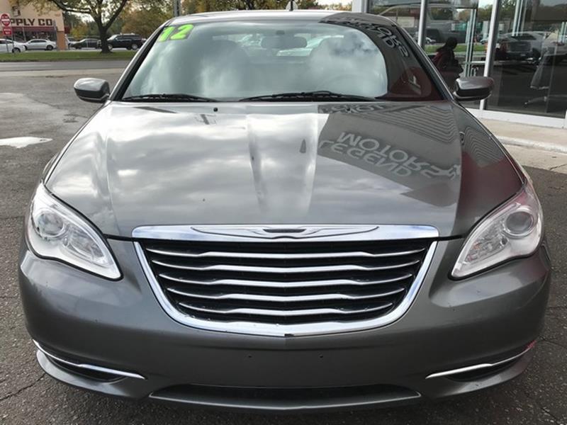 2012 Chrysler 200 LX 4dr Sedan In Ferndale MI  Legend Motors 3