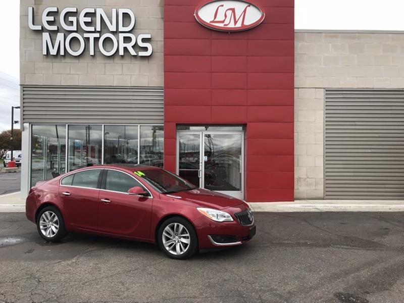 2014 Buick Regal  Miles 27031Color RED Stock 7919C VIN 2G4GN5EX3E9323681