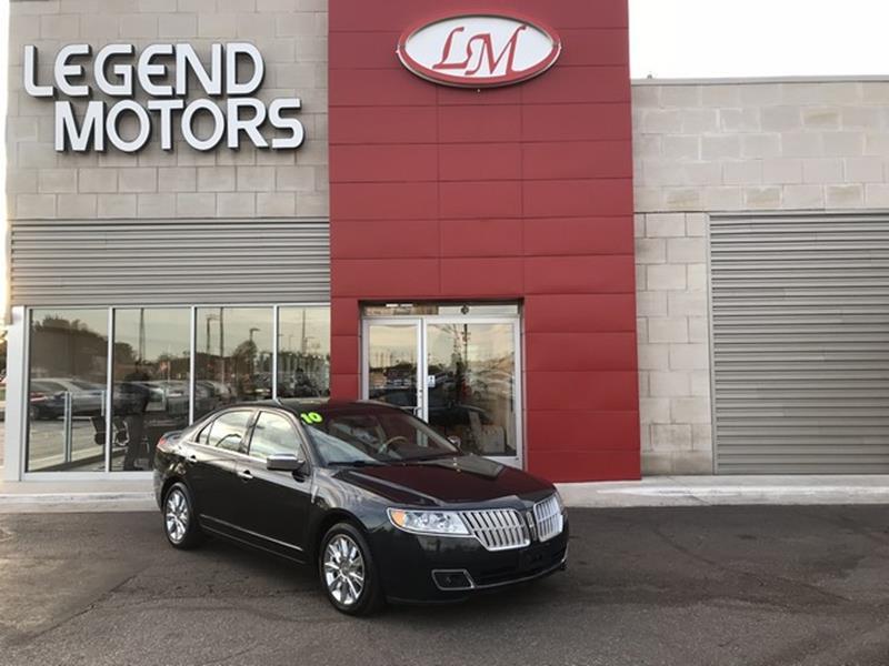 2010 Lincoln Mkz  Miles 92910Color GREEN Stock 7917C VIN 3LNHL2JC9AR753439