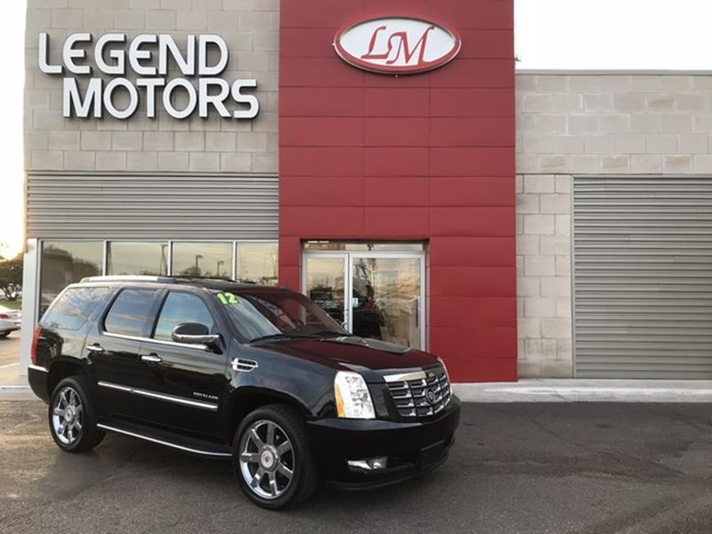 2012 Cadillac Escalade  Miles 78153Color BLACK Stock 7921C VIN 1GYS4BEF6CR278305