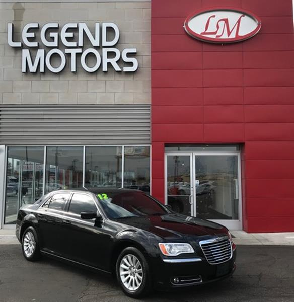 2012 Chrysler 300  Miles 83313Color BLACK Stock 7925C VIN 2C3CCAAG6CH231