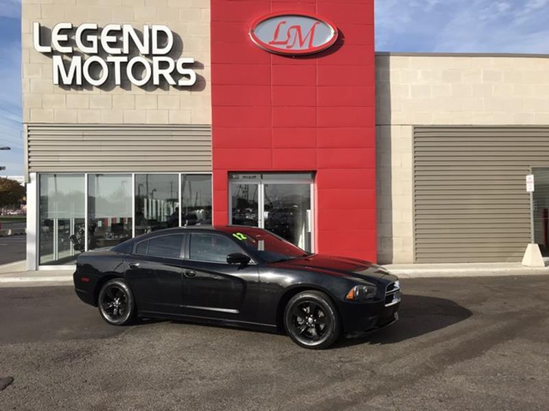 2012 Dodge Charger  Miles 94937Color BLACK Stock 7941C VIN 2C3CDXBG0CH25