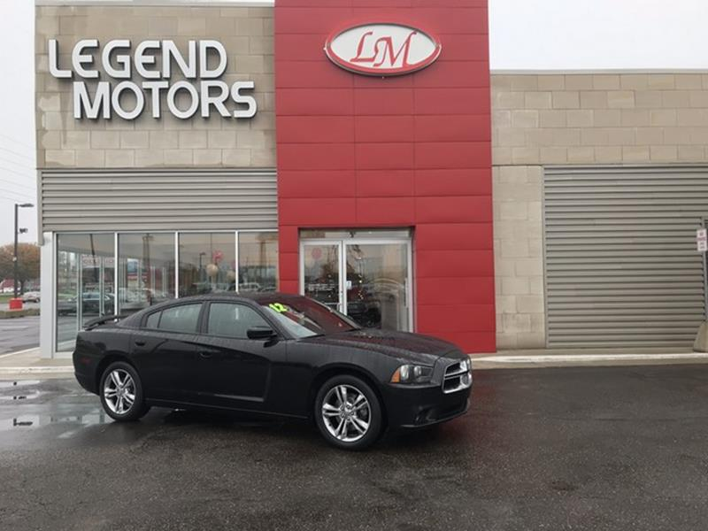 2012 Dodge Charger  Miles 94542Color BLACK Stock 7944C VIN 2C3CDXJG8CH169502