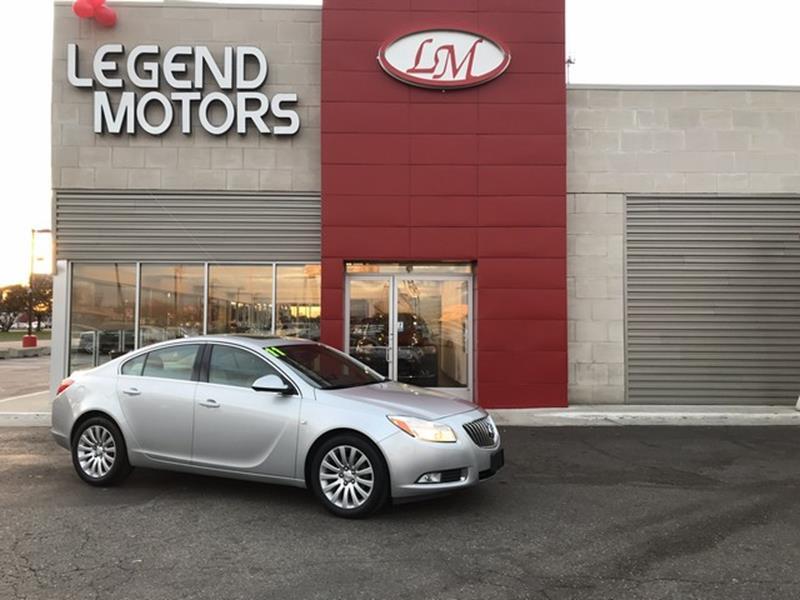 2011 Buick Regal  Miles 99334Color SILVER Stock 7947C VIN W04GS5EC6B1042866