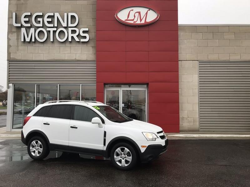 2013 Chevrolet Captiva Sport  Miles 74869Color WHITE Stock 7946C VIN 3GNAL1EK6DS617680