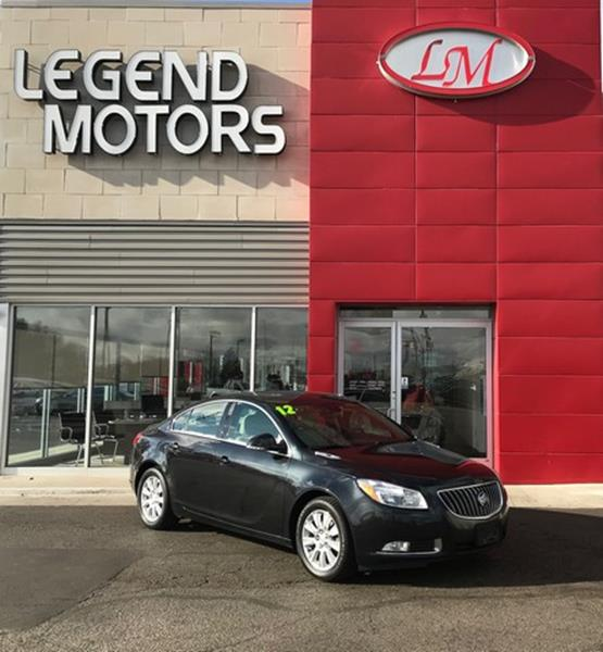 2012 Buick Regal car for sale in Detroit