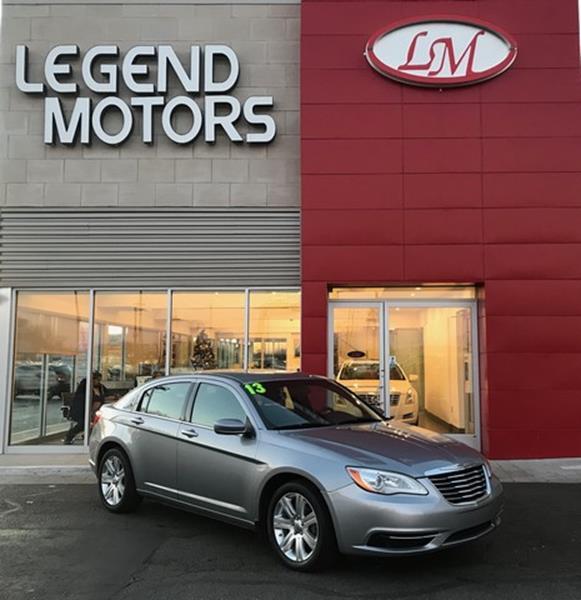 2013 Chrysler 200  Miles 76920Color GREY Stock 7978C VIN 1C3CCBAB9DN698363