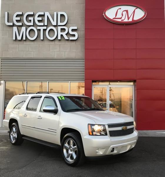 2012 Chevrolet Suburban  Miles 75392Color WHITE Stock 7981C VIN 1GNSKKE72CR284078