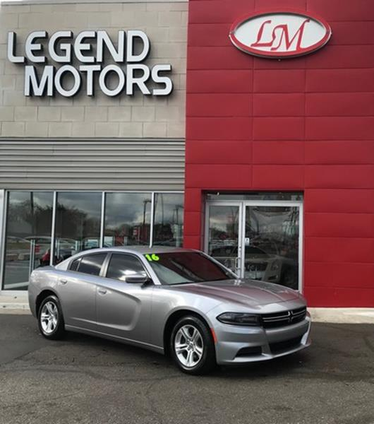 2016 Dodge Charger  Miles 22048Color GRAY Stock 7982C VIN 2C3CDXBGXGH351