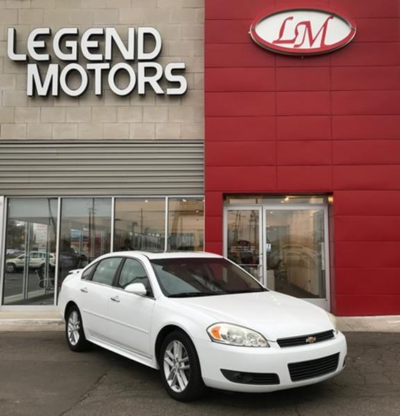 2011 Chevrolet Impala  Miles 93922Color WHITE Stock 8009C VIN 2G1WC5EM3B
