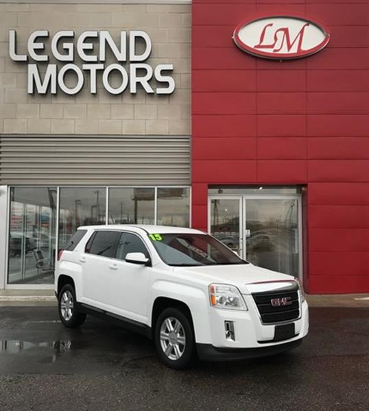 2015 Gmc Terrain  Miles 42251Color WHITE Stock 8014C VIN 2GKFLVEKXF6120644