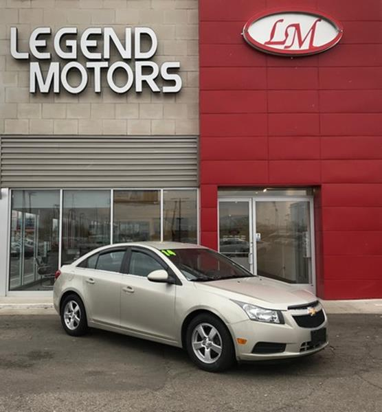 2014 Chevrolet Cruze  Miles 96758Color GOLD Stock 8023C VIN 1G1PC5SB1E7111634