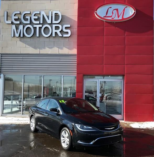 2015 Chrysler 200  Miles 27946Color BLACK Stock 8026C VIN 1C3CCCAB0FN654681