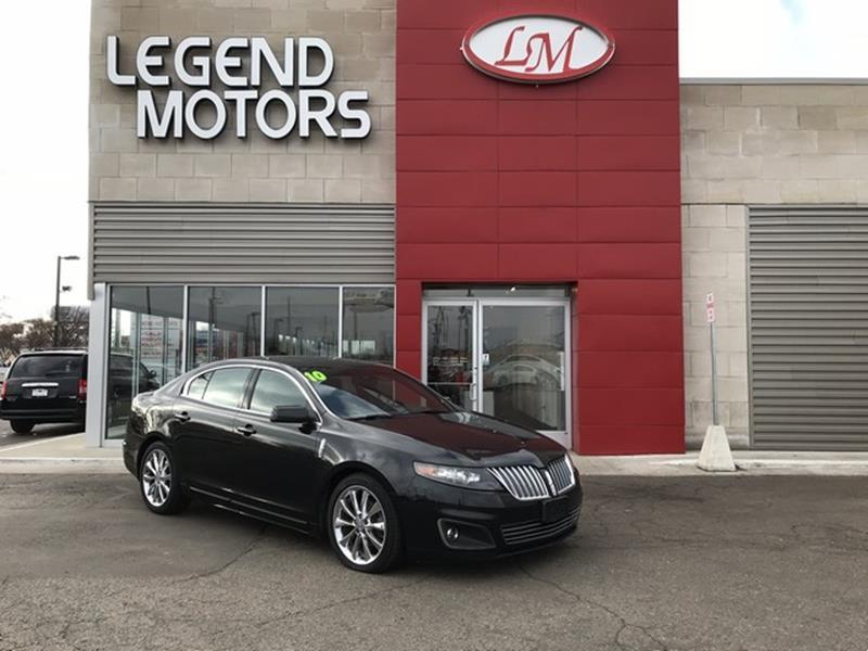 2010 Lincoln Mks  Miles 51786Color BLACK Stock 8031C VIN 1LNHL9FT7AG612099