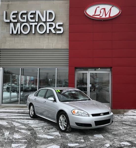 2014 Chevrolet Impala Limited  Miles 85772Color SILVER Stock 8036C VIN 2G1WC5E36E1102117