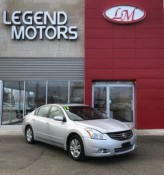 2012 Nissan Altima  Miles 72617Color SILVER Stock 8048C VIN 1N4AL2AP1CC252013