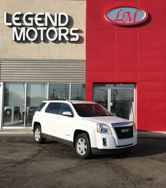 2011 Gmc Terrain  Miles 90493Color WHITE Stock 8053C VIN 2CTFLTEC8B6324866