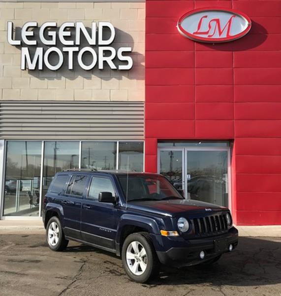 2015 Jeep Patriot  Miles 73488Color BLUE Stock 8057C VIN 1C4NJRFB4FD244607