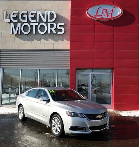2016 Chevrolet Impala  Miles 16213Color SILVER Stock 8063C VIN 2G1105SA5G9132722