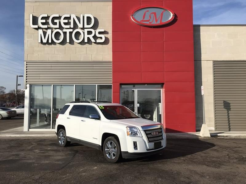 2015 Gmc Terrain  Miles 54538Color WHITE Stock 8040C VIN 2GKFLXEK8F6158692