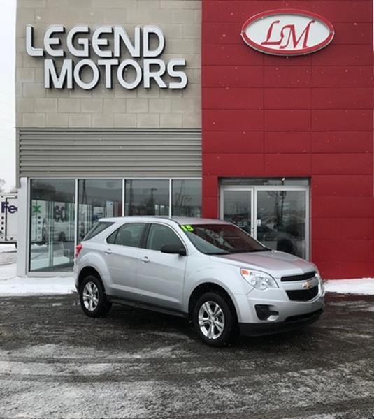 2015 Chevrolet Equinox  Miles 91636Color SILVER Stock 8068C VIN 2GNFLEEK9F6393626
