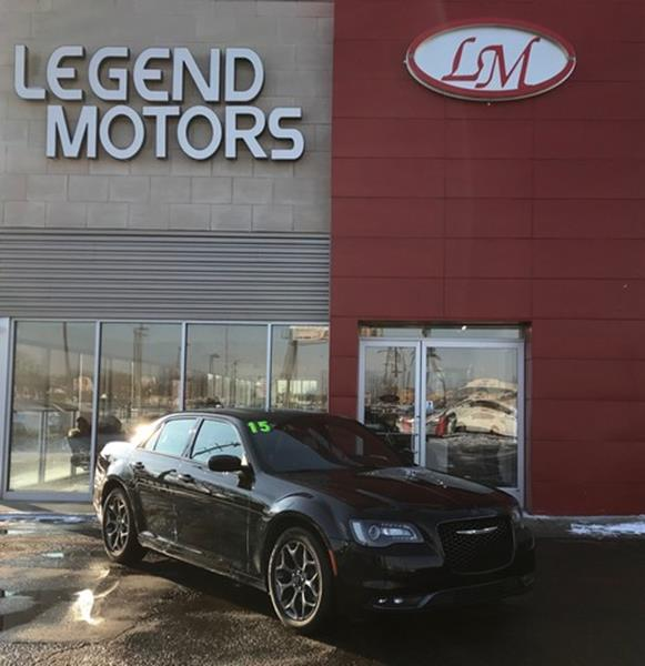 2015 Chrysler 300  Miles 39779Color BLACK Stock 8069C VIN 2C3CCAGG6FH831444