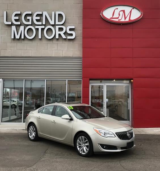 2015 Buick Regal  Miles 37839Color GOLD Stock 8073C VIN 2G4GK5EX3F9123958