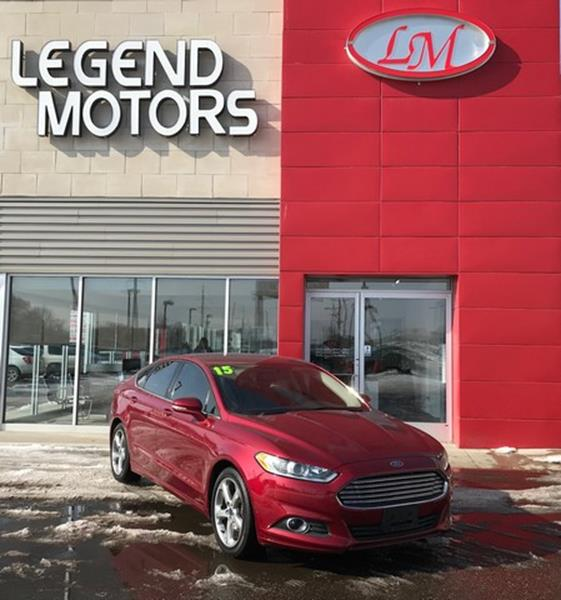 2015 Ford Fusion  Miles 72443Color RED Stock 8081C VIN 3FA6P0H71FR117740