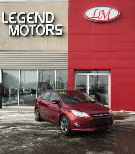 2014 Ford Focus  Miles 54085Color RED Stock 8078C VIN 1FADP3F20EL404886