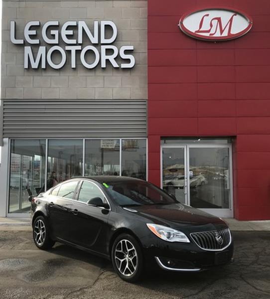 2017 Buick Regal  Miles 29526Color BLACK Stock 8085C VIN 2G4GL5EX7H9106032