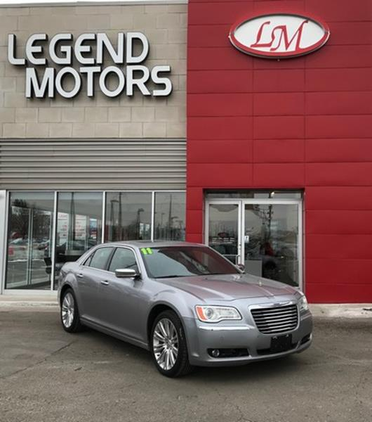 2011 Chrysler 300  Miles 101449Color SILVER Stock 8101C VIN 2C3CA6CTXBH5