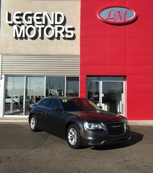 2015 Chrysler 300  Miles 84156Color GRAY Stock 8184C VIN 2C3CCAAGXFH8534