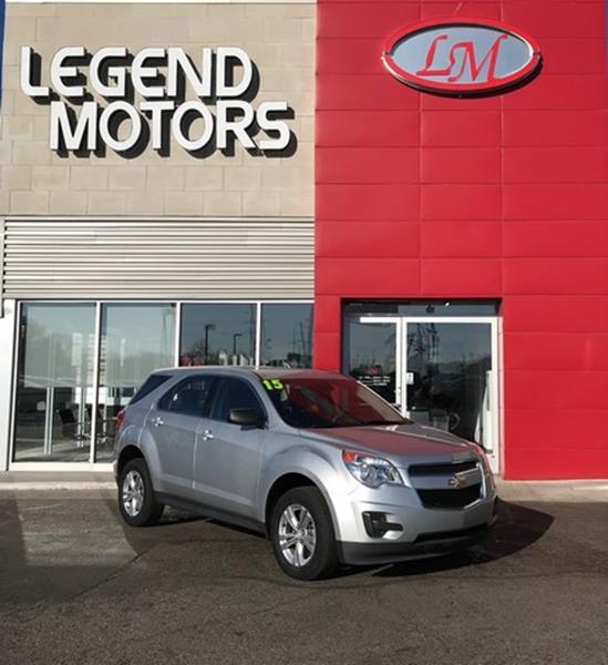 2015 Chevrolet Equinox  Miles 56271Color SILVER Stock 8200C VIN 1GNFLEEK3FZ103708