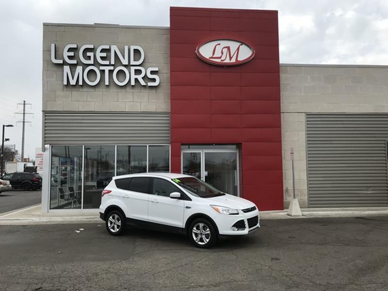 2014 Ford Escape  Miles 88278Color WHITE Stock 8233C VIN 1FMCU9GX2EUA89011