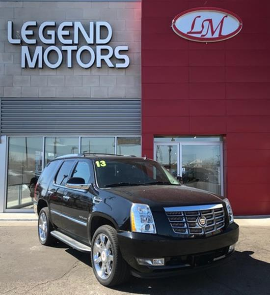 2013 Cadillac Escalade  Miles 76593Color BLACK Stock 8235C VIN 1GYS4BEF1