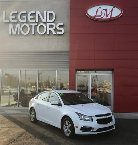 2015 Chevrolet Cruze  Miles 78580Color WHITE Stock 8259C VIN 1G1PC5SB7F7