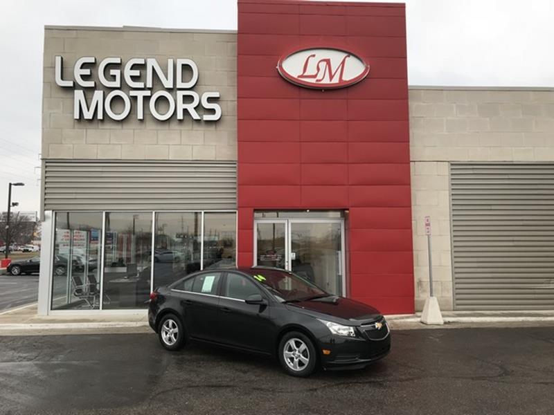 2014 Chevrolet Cruze  Miles 62281Color BLACK Stock 8269C VIN 1G1PC5SBXE7461585